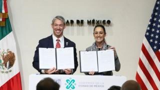 Firman Ciudad de México y San Antonio convenio para fortalecer amistad y políticas públicas