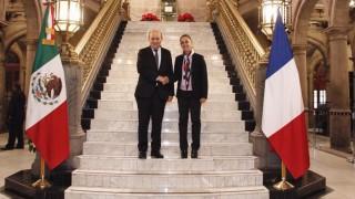 Reunión de la Jefa de Gobierno con el Primer Ministro para Europa y de Asuntos Exteriores de la República Francesa