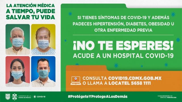 La Atención Médica a tiempo, pede salvar tu vida; ubica aquí los módulos de triage en la Ciudad de México