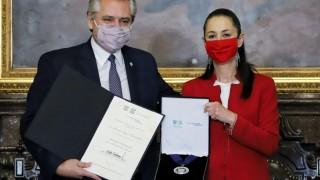 Declara Jefa de Gobierno al Presidente de Argentina Huésped Distinguido de la Ciudad de México