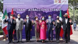 """Inaugura Secretaria de Cultura la exposición """"Vietnam-Atracción eterna"""" en Galería Paseo de las Culturas Amigas"""